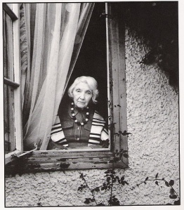 Jean Rhys at window