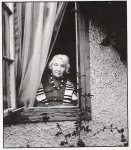 Jean Rhys at window